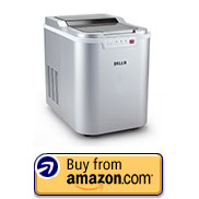 DELLA 048-GM-48225 Portable Ice Maker Machine High Capacity, Yields up to 26 Pounds of Ice Daily